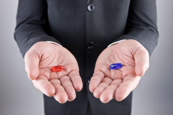 Red pill, blue pill